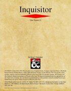 Inquisitor Class (D&D 5e)