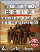 Martial Arms Training Manual