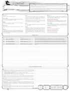 Combat Actions Sheet