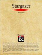 Stargazer Class (D&D 5e)