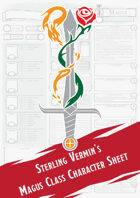 Magus Class Character Sheet (Sterling Vermin Adventuring Co.)