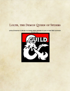 Updated Demon Lords: Lolth, the Demon Queen of Spiders