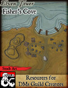 Elven Tower - Fisher's Cove | Stock City Map