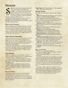 Selkie - A Player Character Race