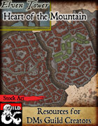 Elven Tower - Heart of the Mountain | Stock City Map