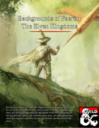 Backgrounds of Faerûn: The Elven Kingdoms