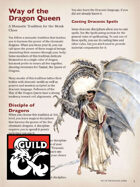 Way of the Dragon Queen - A Monastic Tradition