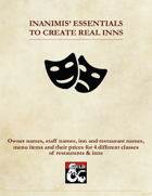 Inanimis' Essentials to Create Real Inns