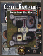 Castle Ravenloft Player Maps (Fantasy Grounds & Source Maps)