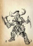 Stock art - Female Orc chief