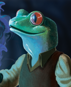 Ribbitans:  Friendly Frogs of the Feywild