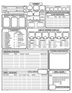 Optimized, Comprehensive Character Sheet