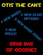 Otis the Can's Grab Bag of Goodies