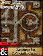 Dwarven Vault - Stock Art