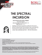 CCC-BMG-25 CORE 3-1 The Spectral Incursion