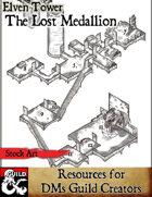 The Lost Medallion - Stock Art