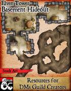 Basement Hideout - Stock Art