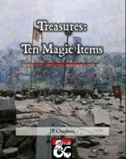 Treasures: Ten Magic Items