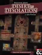 Desert of Desolation - Realistic Maps