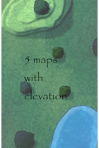 5 maps with elevation