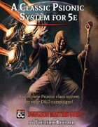 A Classic Psionic System for 5e