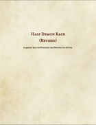 Half Demon Revised (Race)