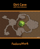 Dirt Cave (with tree entrance)