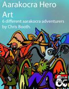Aarakocra Hero Art