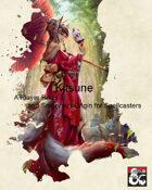 Kitsune Player Race & Sorcerous Origin for Spellcasters