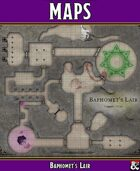 P.B. Publishing: MAPS - Baphomet's Lair