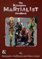 The Incomplete Martialist Handbook