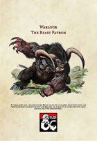 5th Edition Warlock Subclass: The Beast Patron