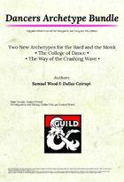 [5e] Dancers Archetype Bundle - Dragon Ink