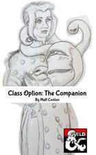 Class Option: The Companion