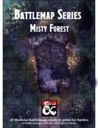 Battlemaps - Misty Forest