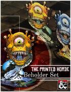 The Beholder Paper Miniature Set