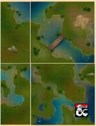 Bog Terrain, Package of 4