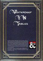 Waterdeep in tables