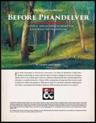 Before Phandelver - A Tutorial Adventure