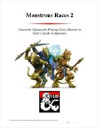 Monstrous Races 2