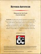Revised Artificer
