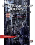 Lawyers and Laws of Eberron! Resources for Legal Thrillers in Eberron