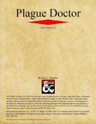 Plague Doctor Class (D&D 5e)