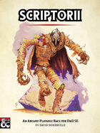 Scriptorii: An Arcane Playable Race for D&D 5E