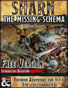 Sharn, the Missing Schema - Free Version