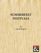 Summerfest Festivals with Comedian Bard