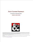 Spells - Nim's Cantrip Pamphlet