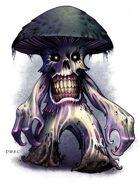 Spore-Kin Wizard Creature