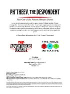 CCC-TRI-16 Ph'theev, the Despondent (Part One of the Psionic Menace Series)