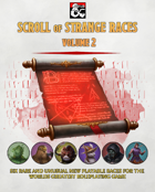 {B5} Scroll of Strange Races - Volume 2